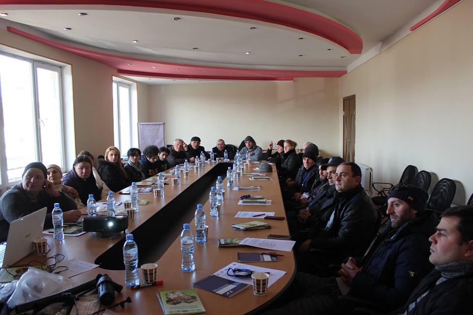Thematic training in Tsalka Municipality – Georgian version