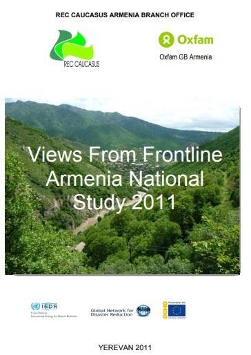 Views From Frontline, Armenia National Study 2011