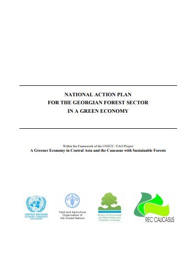 National Action Plan for the Georgian Forest Sector in a Green Economy