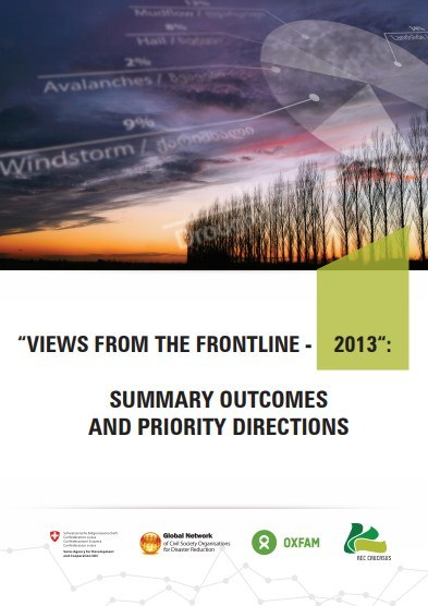 Summary outcomes and priority directions: Views from the Frontline – 2013