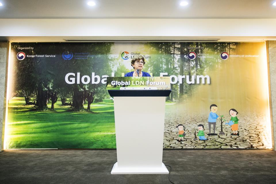 The Director of REC Caucasus – Sophiko Akhobadze Attends The First Global Land Degradation Neutrality Forum