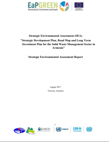 Strategic Environmental Assessment (SEA) Report