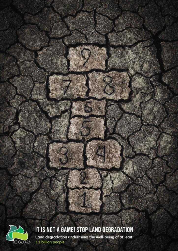 Stop Land Degradation Poster