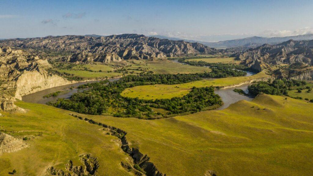 Establishment of Vashlovani Biosphere Reserve in Kakheti Region as a model for inclusive and sustainable growth