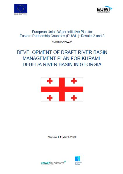 Thematic Summary of Khrami-Debeda River Basin Management Plan