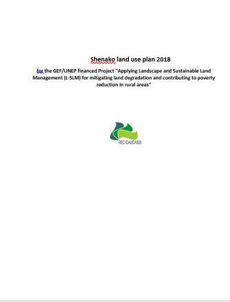 Shenako land use plan
