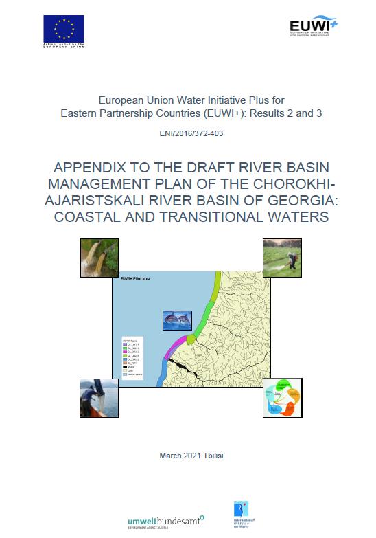 APPENDIX TO THE DRAFT RIVER BASIN MANAGEMENT PLAN OF THE CHOROKHIAJARISTSKALI RIVER BASIN OF GEORGIA: COASTAL AND TRANSITIONAL WATERS