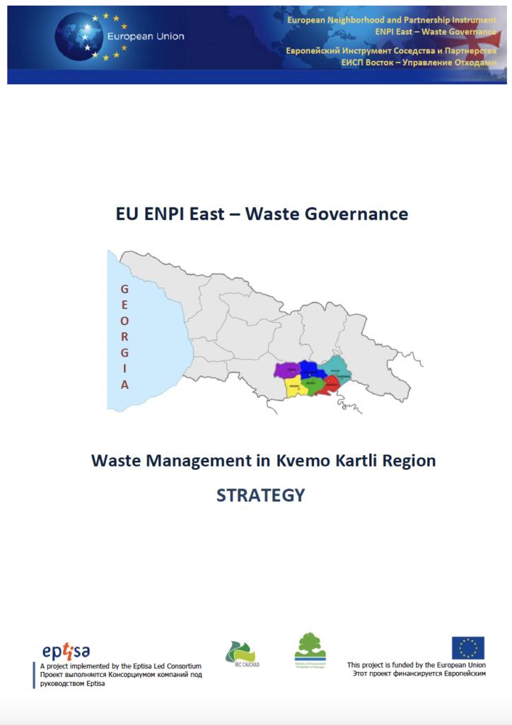 Waste Management Strategy In Kvemo Kartli Region